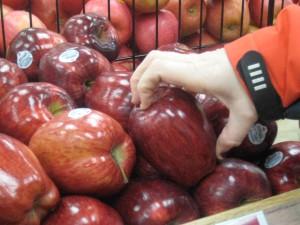 Manzanas en Trader Joe's